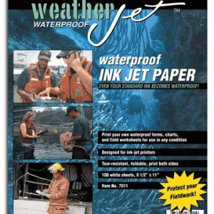 WeatherJet Waterproof Ink Jet Printer Paper - 100