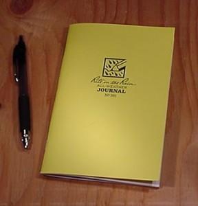 Rite In The Rain Canada 391 : Stapled Notebook (Journal)