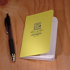 Rite in the Rain 371-M : Mini Stapled Notebook (Universal)