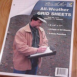 Grid Sheet Pads - 1111 Columnar