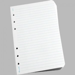 392 : Small Binder Sheets - Journal