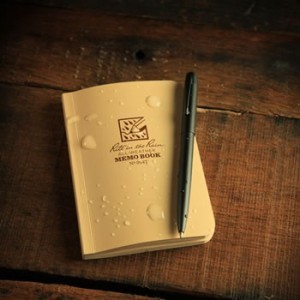 Rite in the Rain 954T : Field-Flex Mini Notebook (Tan)
