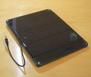 Voltaic 6W solar panel 6V