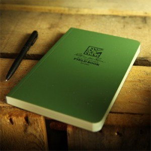 Rite In The Rain 980 : Tactical Field Book (Green)