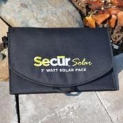 Secur 7 solar USB charger