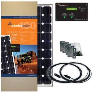 RV Solar Kit - 100 Watt