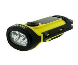 Secur Sp-1002 solar & dynamo flashlight