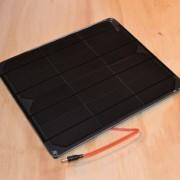 Voltaic 9W solar panel 6V