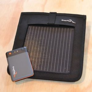 Enerplex Kickr 1 & Jumpr Mini UltraLight 1 solar charger kit