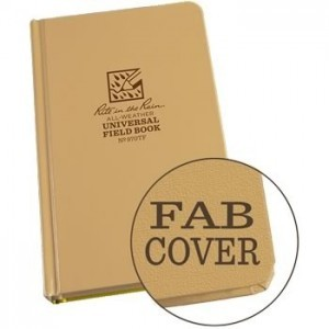 Rite in the Rain 970TF : Weatherproof Bound Notebook - Universal/Tan