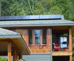 MicroBLOX 520 Grid-Tie residential solar system