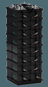 aquion aspen saltwater battery stack