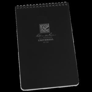 rite in the rain 758 top spiral notebook black