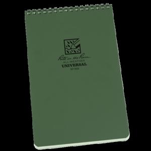 rite in the rain 958 top spiral notebook green