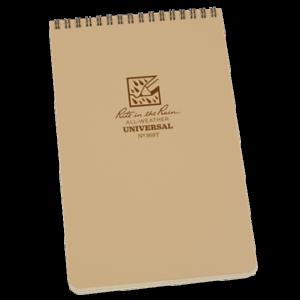 rite in the rain 958t top spiral notebook tan