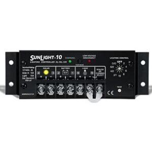 morningstar sunlight 10 12v solar charge controller