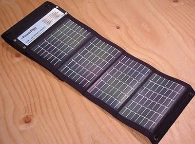 PowerFilm USB AA solar charger