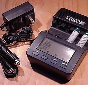 MH-C9000 Wizard One charger for NiMh NiCd AA AAA batteries