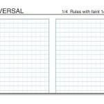 """3-1/2x5"""" Weatherproof Bound Notebook 374-M"""