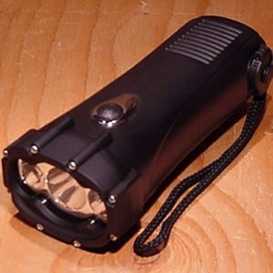 Vortex dynamo flashlight