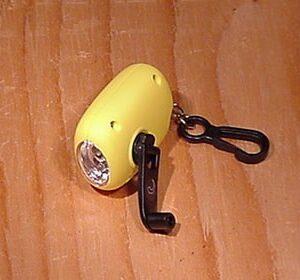 Coghlans Mini Dynamo Flashlight
