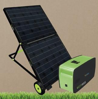Eco 1800S Portable Solar Generator
