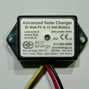 eco-energy asc30 30w solar controller