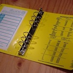 210 : Field Ring Binder - 1""