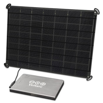 Voltaic 17W solar charger kit