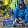 voltaic 17w solar kit field use