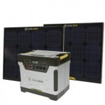 Example : Yeti 1250 with two Boulder 30 solar panels (optional)
