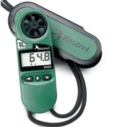 Kestrel 2000 Pocket Thermo Wind Meter case