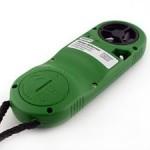 Kestrel 2000 Pocket Thermo Wind Meter back