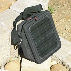 Voltaic Switch : USB Solar Bag