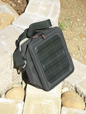 Voltaic Switch : USB Solar Bag