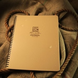 Rite in the Rain 973T-MX : Weatherproof Maxi Spiral Notebook - Tan