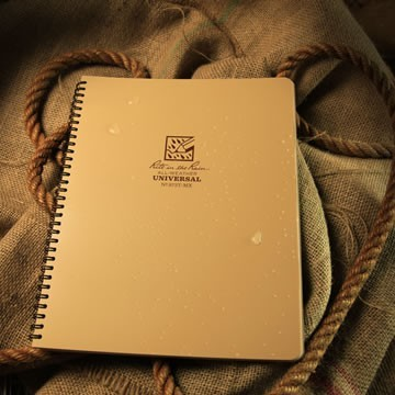Rite in the Rain 973T-MX : Weatherproof Maxi Spiral Notebook - Tan