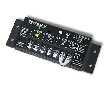 SunSaver 10 Solar Charge Controller - Base Unit 12V