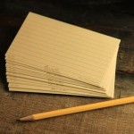 "991T : Index Cards - 3x5"", Tan"