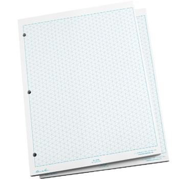 Rite in the Rain 1190 : Grid Sheet Pads - Isometric