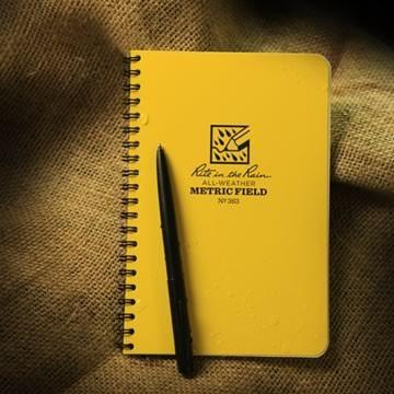 Rite in the Rain 363 : Spiral Notebook - Metric Field