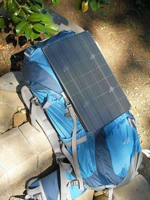 Nepal 17 on backpack