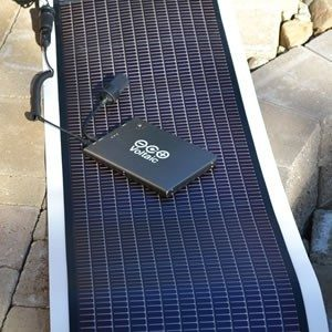 Kayak 14 solar charger kit