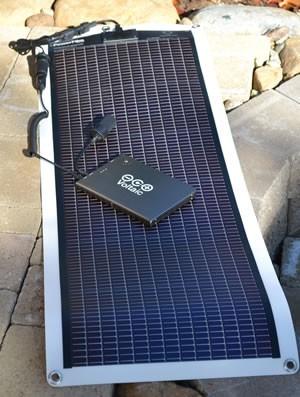 Kayak 14 solar charger kit