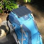 UltraLight 6 solar backpack
