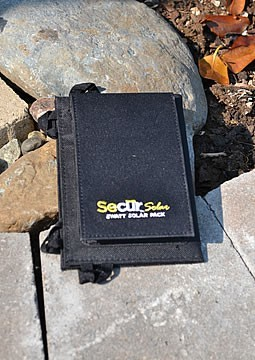 Secur 3 folding USB solar panel