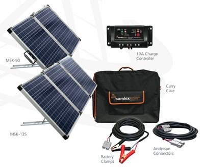Portable Solar Kit 90-135