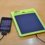 Sun Power Pad 3000 charging iPhone