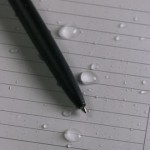 735 : Weatherproof Spiral Notebook / Black