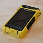 Snow Lizard SLXtreme 4 case for iPhone 4 solar panel